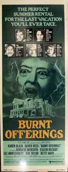 Burnt Offerings. United Artists, P E. A. Films Inc., Bette Davis, Oliver Reed, Karen Black,...