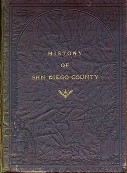 History of San Diego County. Carl H. Heilbron