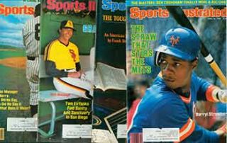 4 Sports Illustrated issues from 1984. Covers include Yogi Berra, Craig Nettles, Daryl...