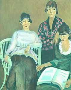 Color reproduction of The Three Sisters (1915). Henri Matisse