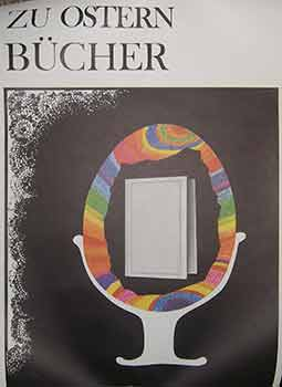 Zu Ostern Bucher. (Exhibition Poster). 20th Century German Artist