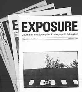 Exposure: Journal for the Society of Photographic Education, Volume XII, Nos. 1 - 4. 1974. Jim...