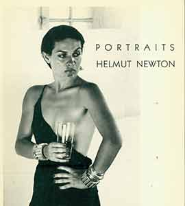Portraits. Early edition. Helmut Newton, National Portrait Gallery, Terence Pepper, London