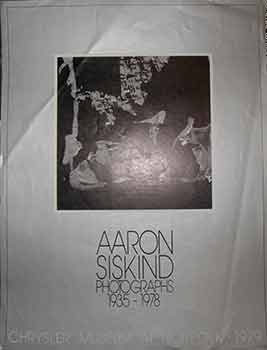 Aaron Siskind Photographs 1935 - 1978. (Poster). Aaron Siskind, Photo