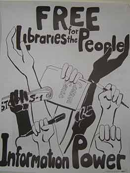 Free Libraries for the People. (Poster). 20th Century American Artist