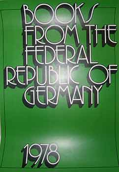 Books from the Federal Republic of Germany. (Poster). 20th Century German Artist
