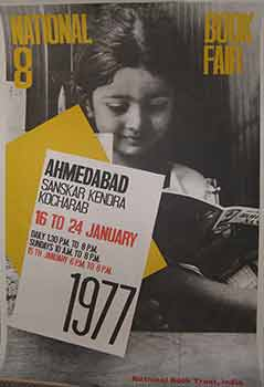8th National Book Fair, Ahemdabad 16 - 24 January, 1977. (Poster). 20th Century Indian Artist