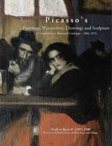Picasso's Paintings, Watercolors, Drawings & Sculpture: Picasso in the Nineteenth Century:Youth in Spain II, 1897-1900. The Picasso Project.