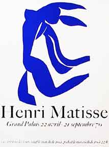 Dancer - Grand Palais. Poster. Henri Matisse