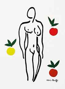 Woman with Apples. Henri Matisse