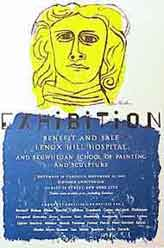 Lenox Hill Hospital and Skowhegan School [poster]. Ben Shahn