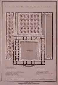 Plan of Grecian Palaestra after Vitruvius. Vitruvius, after