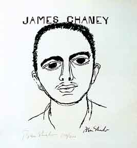 James Chaney. Ben Shahn