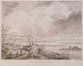 Veue de Hollande. after P. Wouwerman Cochin