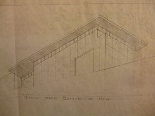Building Plans, Elevations, and Perspectives for Structure at 1900-1908 18th St., San Francisco. James H. Hjul.