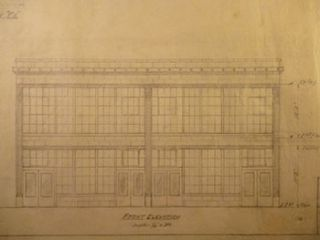 Building Plans and Elevation for a Building for James H. Hjul on Russ St., San Francisco. James...