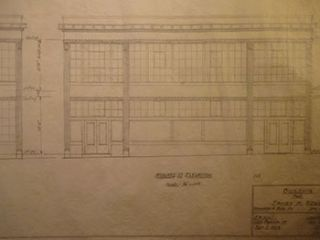 Building Plans and Elevation for a Building for James H. Hjul on Russ St. and Howard St., San...