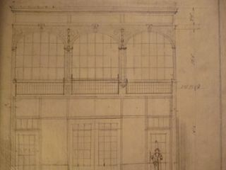Building Plans and Elevations for a Warehouse for James H. Hjul on Mission St., San Francisco. James H. Hjul.