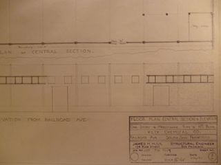 Building Plans, Elevations, and Perspective for a Building for Klix Chemical Co. at 551 Railroad...