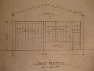 Building Plans and Elevation for a Building for A. Paulsen. on Harriet St., San Francisco. James...