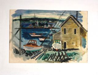 Boothbay Boatyard, Maine. Jason Schoener