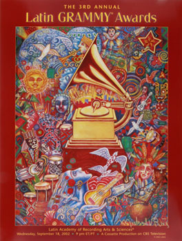 The 3rd Annual Latin Grammy Awards. Michael Rios