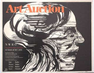 Agonized. Poster for the Art Auction of National Welfare Rights Organization, June 7, 1970....