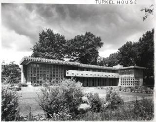 Turkel House (by Frank Lloyd Wright). Turkel House Photographer