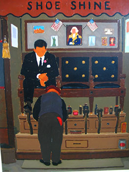 Shoe Shine Stand. No. 1 [San Francisco]. John Payne