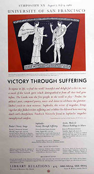 Victory through Suffering. Symposium XX. Lindsley Hall, after the Meletos Painter