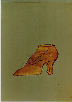 Untitled [Lady's Shoe]. Photograph with Certificate of Authenticity. Andy Warhol, Frederick W....
