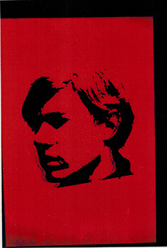Self-Portrait. Photographs and transparency. Andy Warhol