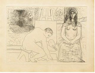 Le Chef-d'oeuvre inconnu. (Signed first edition). Honoré de Balzac, Pablo Picasso, Author, Artist.
