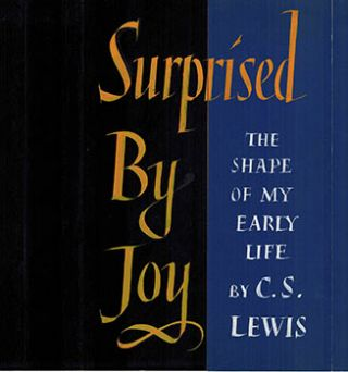 Original Art for the dust-jacket of Surprised by Joy: The Shape of My Early Life by C.S. Lewis....