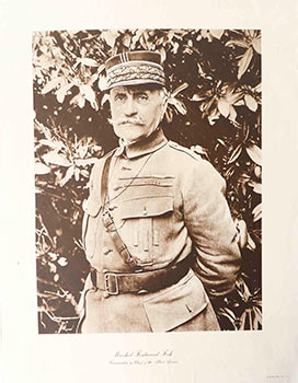 Marshal Ferdinand Foch. Commander in Chief of the Allied Armies. Alco-Gravure