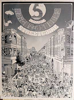5th Annual Haight-Ashbury Street Fair. Poster. John Flores