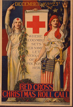 Red Cross Christmas roll call December 16th to 23rd [1918- World War I] First edition. Edwin...