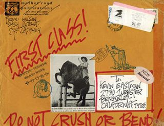 Collection of letters and annotated and signed ephemera and collages from S. Clay Wilson,...