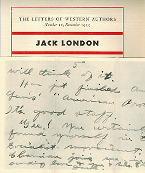 The Letters of Western Authors: A series of letters, reproduced in facsimile, of twelve...