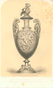 Vase in Silver by Hunt & Roskell of London. Wyatt, M. Digby (Matthew Digby), from the Industrial...
