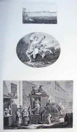 The Stage-Coach, or the Country Inn Yard; View of Ranby's House; Hymen and Cupid. (three...