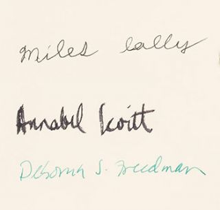 Continental 34s. Limited edition, signed. Annabel Wood Levitt, Deborah S. Freeman, Miles Lally,...