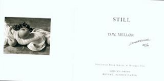 Still. Limited Edition. Signed. D. W. Mellor, Douglas Wharton