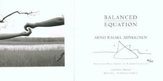 Balanced Equations. Limited Edition. Signed. Arno Rafael Minkkinen