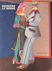 Derrière Le Miroir n° 226 - Lindner. [With added invitation]. Richard Lindner, James Lord, text
