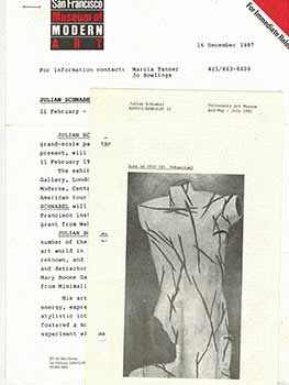Dossier of art reviews, biographical information and interviews with the artist Julian Schnabel....