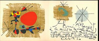 Aimé Maeght. Greetings for 1959. Original lithograph. Joan Miró, artist