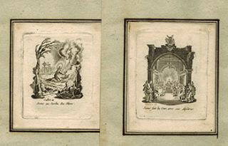 La Petite Passion (The Small Passion . Suite of 12 original etchings. Jacques After Callot