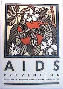 AIDS [poster]. David Lance Goines