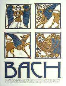 Bach [poster]. David Lance Goines